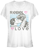 Juniors: Star Wars- Rebel Love T-Shirt