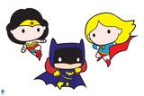 Justice League Chibi Design Posters