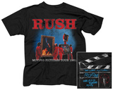 Rush- Moving Pictures Tour '81 (Front/Back) Bluser