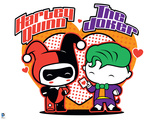 Justice League Chibi Design Prints