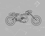 Mechanics III Giclée-tryk af Justin Lloyd