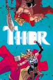 Thor No. 4 Cover, Featuring: Thor (female), Thor Znaki plastikowe autor Russell Dauterman