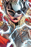 Russell Dauterman - Thor No. 1 Cover, Featuring: Thor (Female) Plastové cedule