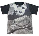 Youth: Kung Fu Panda- Brushed Po (Black Back) T-shirts