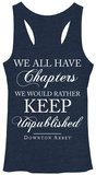 Juniors Tank Top: Downton Abbey- Unpublished Chapters Shirts