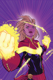 Captain Marvel No. 12 Cover Prints by David Lopez