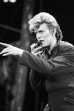 David Bowie Performs at Wembley Stadium, 1987 Photographic Print