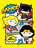 Justice League Chibi Design Plastic Sign