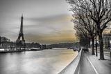 Assaf Frank - River Seine and The Eiffel Tower - Art Print