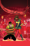 Ms. Marvel No. 12 Cover, Featuring: Ms. Marvel, Loki, Bruno Carrelli Posters by Kris Anka