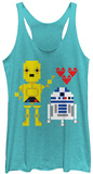 Juniors Tank Top: Star Wars- Droid Love T-shirts