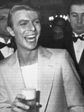 David Bowie at Party During Cannes 31st International Film Festival, 1978 Photographic Print by  Levy