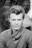 "David Bowie on ""Good Morning America"", 1980 Photographic Print by Dave Pickoff"