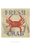 Wild Caught Crab Poster by Jade Reynolds