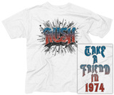 Rush- Take a Friend in '74 (Front/Back) Shirts
