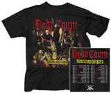 Body Count- Manslaughter Tour (Front/Back) T-shirts