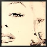 She Knows Marilyn Monroe Pop Art Framed Giclee Print by Pop Art Queen
