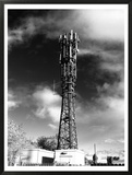 Whitley Bay Mast Framed Giclee Print by Simeon Lister