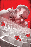 Scarlet Spiders No. 2 Cover, Featuring: Spider-Man, Scarlet Spider, Jennix, Black Widow (Clone) Print by David Nakayama