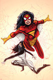 Spider-Woman No. 1 Cover, Featuring: Spider Woman, Silk Plakater af Greg Land