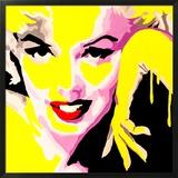 Temptress Marilyn Monroe Framed Giclee Print by Pop Art Queen