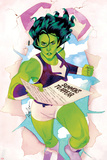 She-Hulk No. 6 Cover Prints by Kevin Wada