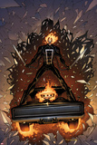 Marvel Knights Presents: Ghost Rider Plastic Sign