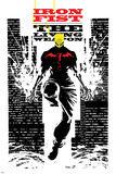 Iron Fist: The Living Weapon No. 4 Cover Plastic Sign by Kaare Andrews
