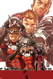 Ant-Man No. 1 Cover Posters by Mark Brooks