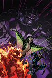 Inhuman No. 6 Cover, Featuring: Inferno, Naja, Flint, The Unspoken Prints by Ryan Stegman