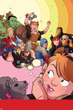 The Unbeatable Squirrel Girl No. 1 Cover, Featuring: Squirrel Girl, Thor, Captain Marvel and More Photo by Erica Henderson