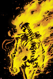 Iron Fist: The Living Weapon No. 8 Cover Plastic Sign by Kaare Andrews