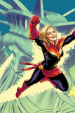 Captain Marvel No. 15 Cover Photo by David Lopez