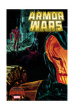 Marvel Secret Wars Cover, Featuring: Iron Man Plakater