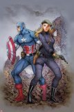 Captain America: Peggy Carter, Agent of S.H.I.E.L.D. Cover Print by Siya Oum