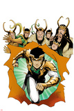 Loki: Agent of Asgard No. 8 Cover Print by Lee Garbett