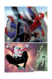 Spider-Verse Team-Up No. 2 Cover, Featuring: Spider-Man, Ultimate Spider-Man Morales Prints by Dave Williams