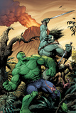 Hulk No. 7 Cover, Featuring: Skaar, Hulk Prints by Gary Frank