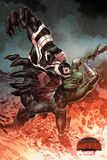 Marvel Secret Wars Cover, Featuring: Venom, Drax Cartel de plástico