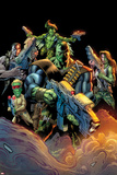 Hulk No. 12 Cover, Featuring: Hulk, Mess, Grey, Griffin, Prodigy Posters by Mark Bagley