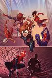 Spider-Verse Team-Up No. 3 Cover, Featuring: Spider-Girl, Spider-UK, Ashley Barton, Spider-Punk Znaki plastikowe autor Jamal Campbell
