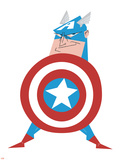The Avengers - Captain America, ICON Posters