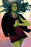 She-Hulk No. 12 Cover Plastic Sign by Kevin Wada