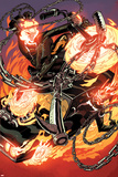 All-New Ghost Rider No. 8 Cover, Featuring: Ghost Rider, Eli Morrow Plakater av Damion Scott