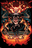All-New Ghost Rider No. 7 Cover, Featuring: Ghost Rider, Robbie Reyes Poster by Damion Scott