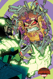 Marvel Secret Wars Cover, Featuring: M.O.D.O.K, Baron Mordo Prints