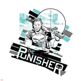 Marvel Knights Presents: Punisher Print