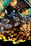 All-New Ghost Rider No. 10 Cover, Featuring: Ghost Rider, Blue Hyde Brigade Posters by Damion Scott