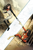 Spider-Woman No. 3 Cover, Featuring: Spider Woman, Silk Print by Greg Land