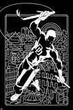 Marvel Knights Presents Cover, Featuring: Daredevil Poster